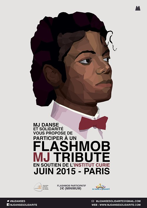 Hommages divers à  MJ.......... - Page 3 Flashmob2015