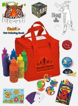 """Michael's Dream Foundation presenta la """"Caja de Michael"""" para los niños Mbox"""