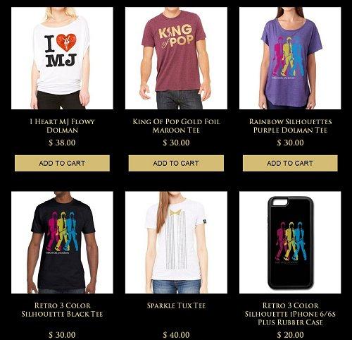 Nouveaux T-shirts sur le site officiel ... Tshirts