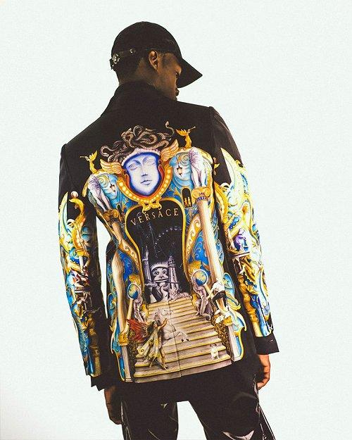Moda Versace - Michael Jackson Dangerous Versace1