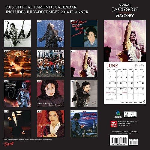 Calendrier  Michael Jackson ................ Danilo2015b
