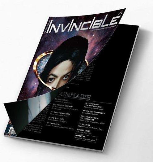 Michael Jackson & les Magazines Invincible1