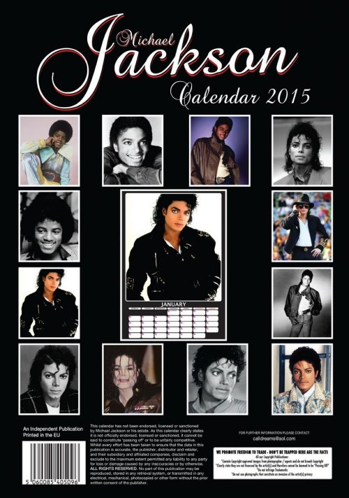 Calendrier  Michael Jackson ................ Dream2