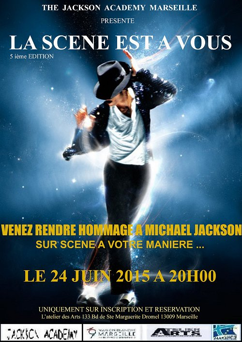 Hommages divers à  MJ.......... - Page 4 Marseille