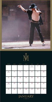 Calendrier  Michael Jackson ................ Calendar201601