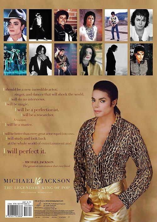 Calendrier  Michael Jackson ................ Ml1