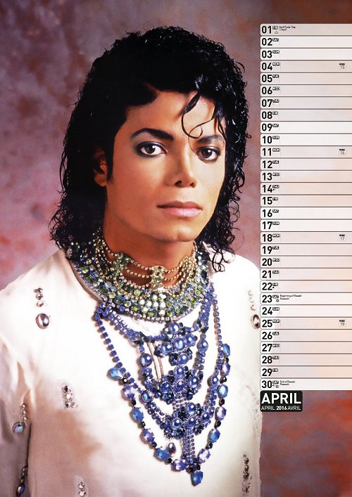 Calendrier  Michael Jackson ................ Ml2