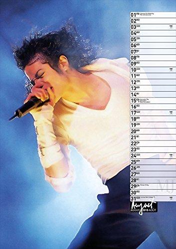 Calendrier  Michael Jackson ................ Aout