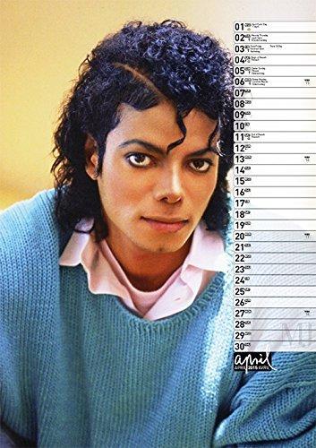 Calendrier  Michael Jackson ................ Avril