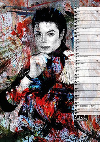 Calendrier  Michael Jackson ................ Mars