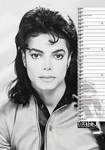Calendrier  Michael Jackson ................ Octobre