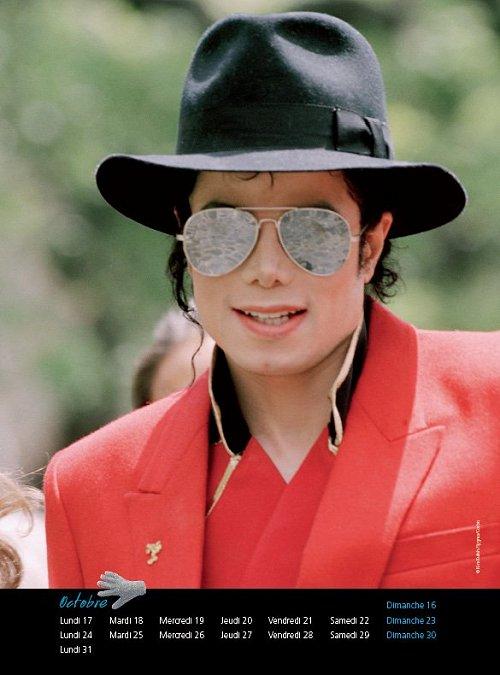 Calendrier  Michael Jackson ................ Calhugo1
