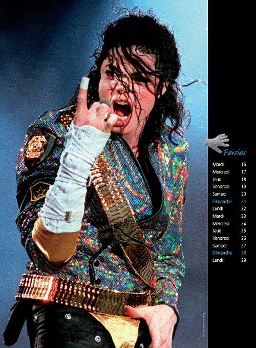 Calendrier  Michael Jackson ................ Calhugo2