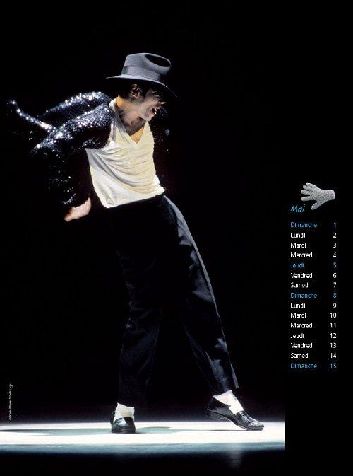 Calendrier  Michael Jackson ................ Calhugo3